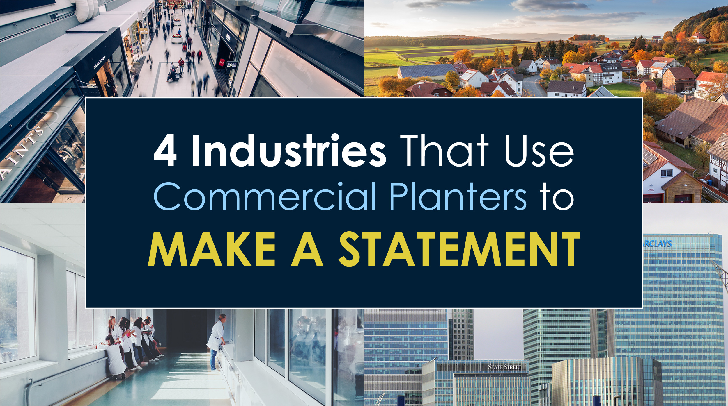 Industries that Use Commercial Planters