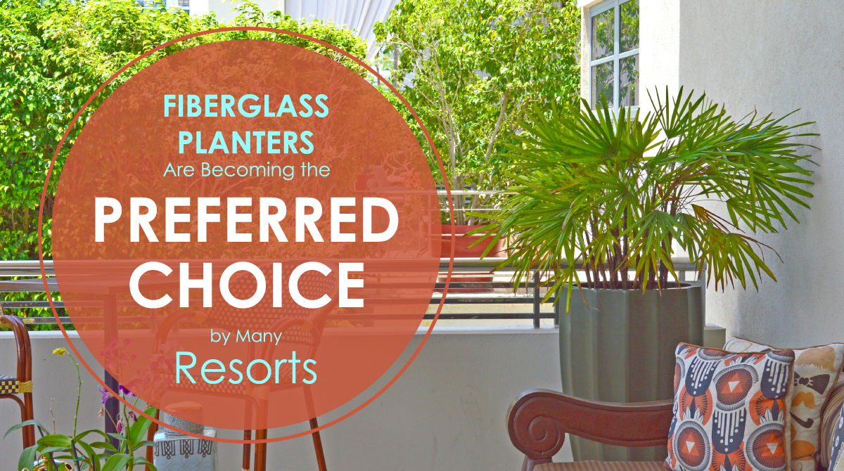 Fiberglass Planters Are A Preferred Choice