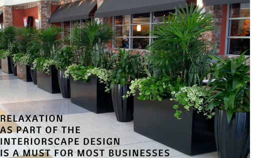 RELAXATION AS PART OF THE INTERIORSCAPE DESIGN IS A MUST FOR MOST BUSINESSES
