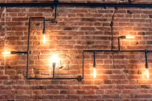 industrial style wall
