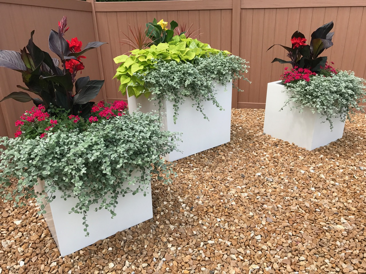 Rectangular Planters Outdoor